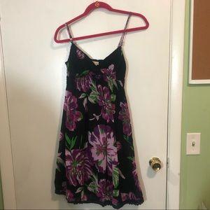 Derek Heart Floral Print Dress